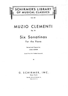 Complete set: For piano by Muzio Clementi