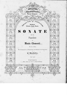 Three Sonatas, Op.50: Complete set by Muzio Clementi