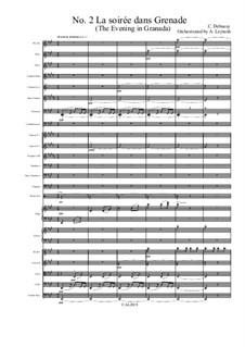 Estampes, L.100: No.2 La Soirée Dans Grenade (The Evening in Granada) by Claude Debussy