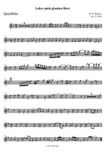 Teach Me Thy Way, O Lord: para flauta e piano by Benjamin M. Ramsey