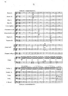 Symphony No.1 in G Minor: movimento II by Vasily Kalinnikov