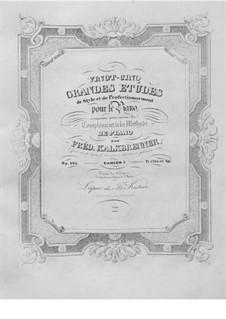 Twenty-Five Grand Etudes, Op.143: No.2-13 by Friedrich Kalkbrenner