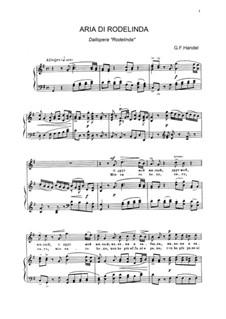 Rodelinda, HWV 19: Mio caro bene... Aria di Rodelinda by Georg Friedrich Händel