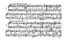 Chorals for Four Voices: Riemenschneider's collection Book I No.1-101 by Johann Sebastian Bach