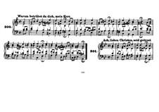 Chorals for Four Voices: Riemenschneider's collection Book IV No.300-371 by Johann Sebastian Bach