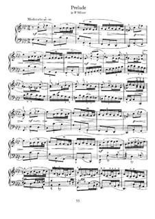 Prelude in F Minor: para cravo by Johann Sebastian Bach