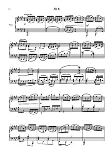 24 preludies and fugues for piano: No.8 by Vladimir Polionny
