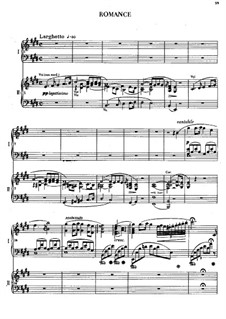 Fragments: Movements II-III. Version for two pianos four hands by Frédéric Chopin