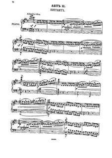 Ruth, Op.6: ato II - piano-vocal partitura by Mikhail Ippolitov-Ivanov