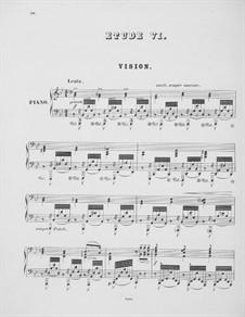 Études d'exécution transcendante, S.139: No.6-9 by Franz Liszt