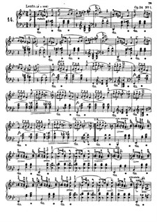 Mazurkas (Collection): No.14-25 by Frédéric Chopin