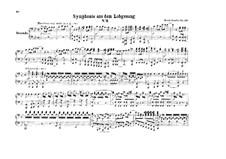 Symphony No.2 in B Flat Major 'Hymn of Praise', Op.52: versão para piano de quatro mãos by Felix Mendelssohn-Bartholdy