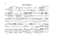 Symphony No.4 in A Major 'Italian', Op.90: para piano de quadro mãos by Felix Mendelssohn-Bartholdy