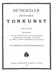 Singing Muse on the Pleisse: set completo by Johann Sigismund Scholze
