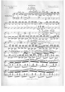 Die Junge Opernfreund. No.25 Ernani von G. Verdi, Op.61: Klavierstimme by Leopold Jansa