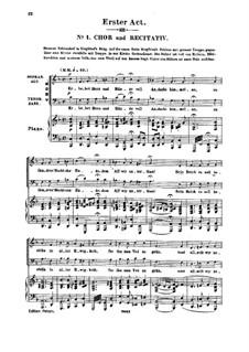 Genoveva, Op.81: Acto I. Arranjos para solistas, Coro e piano by Robert Schumann