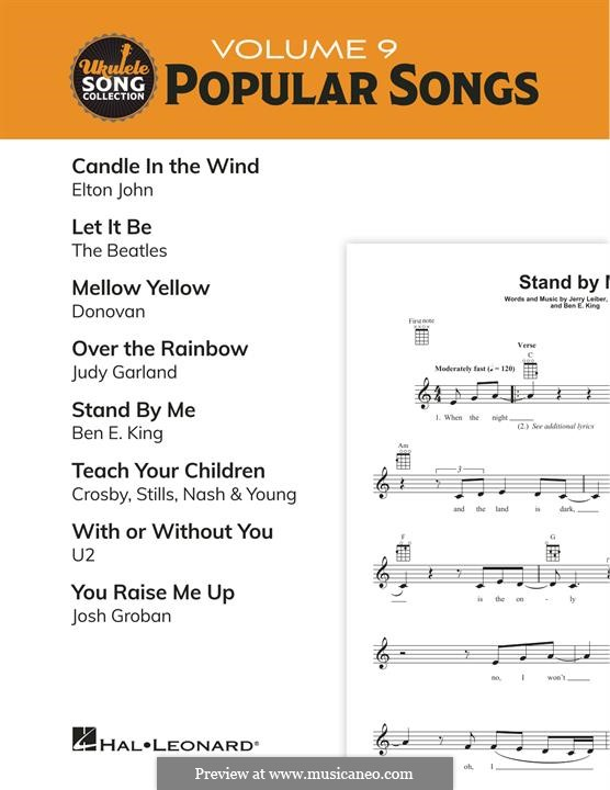 Ukulele Song Collection, Volume 9: Popular Songs: Ukulele Song Collection, Volume 9: Popular Songs by Ben E. King, Donovan Leitch, Elton John, John Lennon, Paul McCartney