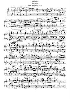 Fragments: Movimento II, para piano by Ludwig van Beethoven