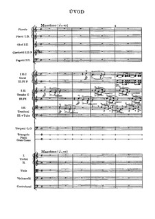 Libuše, T.107: partitura completa by Bedřich Smetana