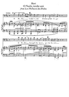 O Nadir, tendre ami: O Nadir, tendre ami by Georges Bizet