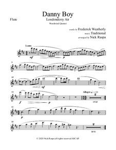 Ensemble version: For woodwind quintet - flute part by folklore