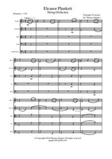 Eleanor Plunkett: para orquetra de cordas by Turlough O'Carolan