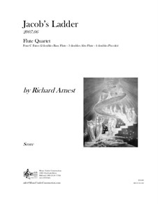 Jacob's Ladder: Study score by Richard Arnest