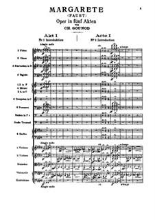 Complete opera: partitura completa by Charles Gounod