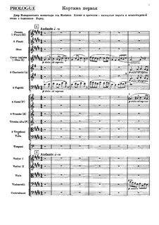 Complete Opera: partitura completa by Modest Mussorgsky