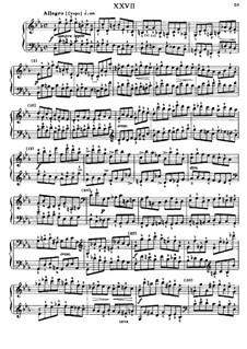 Sixty Etudes: Etude No.27  by Johann Baptist Cramer