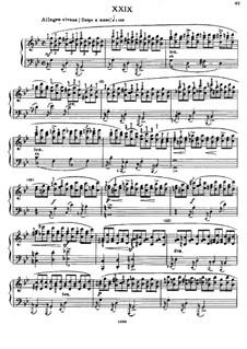 Sixty Etudes: Etude No.29 by Johann Baptist Cramer