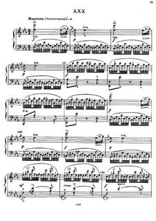 Sixty Etudes: Etude No.30 by Johann Baptist Cramer