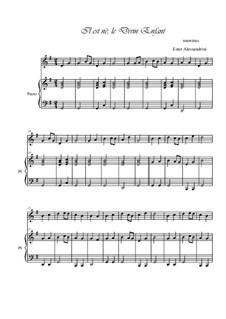 He is Born, the Holy Child (Il est ne, le divin enfant): para oboe e piano by folklore