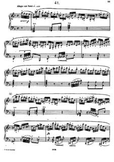 Sixty Etudes: Etude No.41  by Johann Baptist Cramer