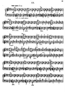 Sixty Etudes: Etude No.43  by Johann Baptist Cramer