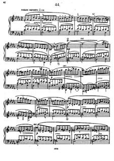 Sixty Etudes: Etude No.44 by Johann Baptist Cramer