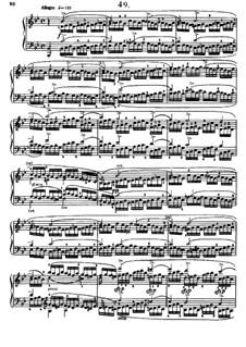 Sixty Etudes: Etude No.49 by Johann Baptist Cramer