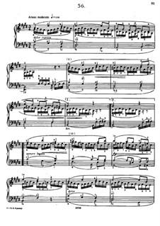 Sixty Etudes: Etude No.56  by Johann Baptist Cramer