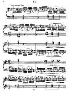 Sixty Etudes: Etude No.58 by Johann Baptist Cramer