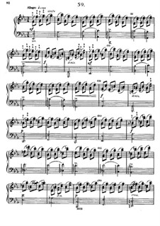 Sixty Etudes: Etude No.59 by Johann Baptist Cramer