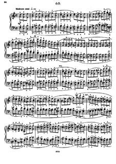 Sixty Etudes: Etude No.60  by Johann Baptist Cramer