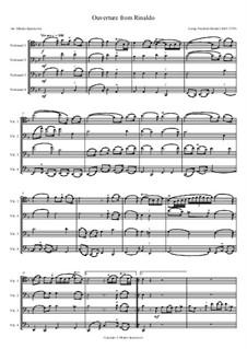Suite: Suite by Georg Friedrich Händel