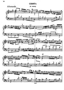 Suite No.3 in D Minor, HWV 436: para cravo by Georg Friedrich Händel