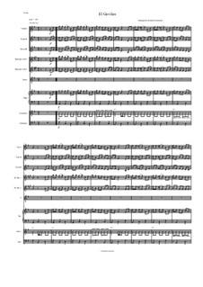 El Gavilan for Intermediate Mariachi: partituras completas, partes by folklore