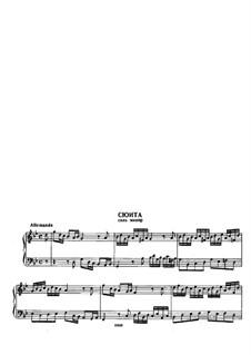 Suite in G Minor: Suite em G Menor by Georg Friedrich Händel