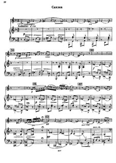 Concert Suite for Violin and Orchestra, Op.28: Conte by Sergei Taneyev