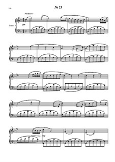 24 preludies and fugues for piano: No.23 by Vladimir Polionny