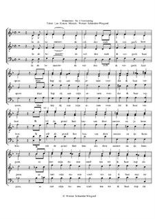 Winterreise, Nr.26-97, Op.23: Nr.84 Verstarring by Werner Schneider-Wiegand