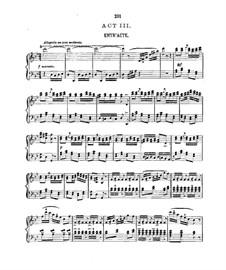 Le cœur et la main (Heart and Hand): ato III,para vozes e piano by Charles Lecocq