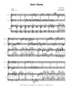 Movement II (Largo): Duet for C-instruments by Antonín Dvořák